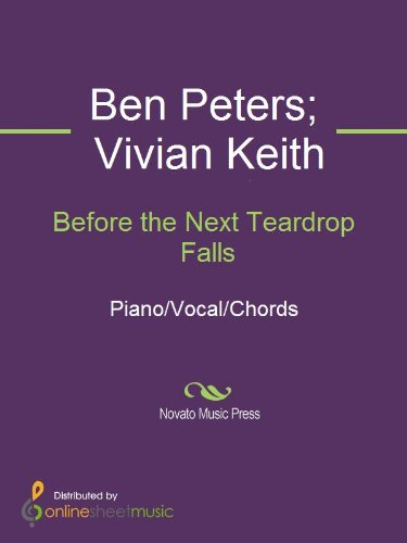 Before The Next Teardrop Falls Kindle Edition By Ben Peters