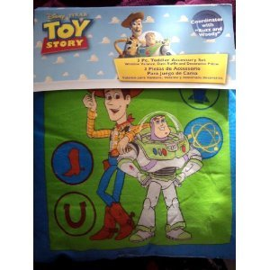 Set Story Bedding Toy (Toy Story 3pc Toddler Accessory Set)