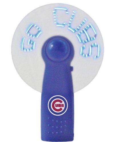 MLB Chicago Cubs Light Up Message Fan (Mlb Team Message Fan)