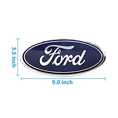 For Ford Tailgate Emblem, F150 Emblem Oval 9