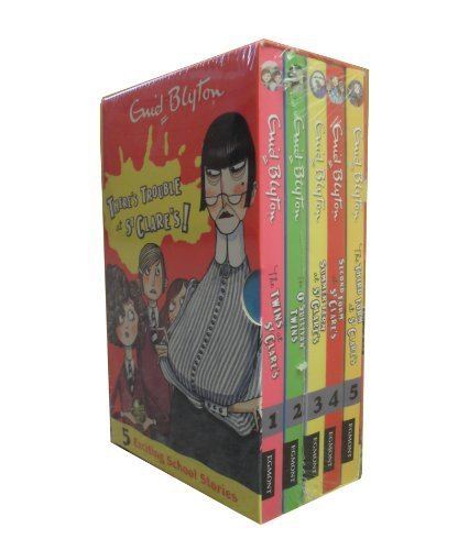 Enid Blyton ST. CLARE's GIFT SET Book 1 - 5 / PACK * 5 Books: 1. The Twins at St Clare's 2. The O'Sullivan Twins 3. Summer Term at St Clare's 4. Second Form at St Clare's 5. The Third Form at St Clare's *** GIFT-WRAPPED FREE *** (Enid Blyton St. Clare's Series)