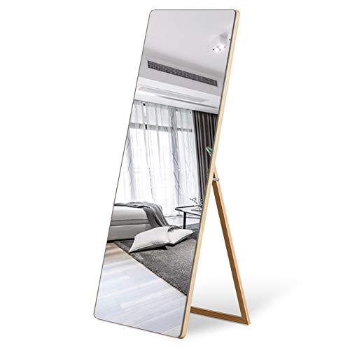 Leafmirror Floor Mirror Full Length Mirror Wooden Frame Free Standing Dressing Wood -