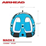 Airhead Mach 2 | 1-2 Rider Towable Tube for Boating