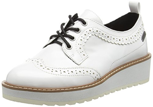 800 Brogues Basic Pepe Jeans Femme Ramsy White Blanc qgZ4B8