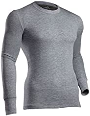 ColdPruf Men's Platinum II Activewear Long Sleeve Crew