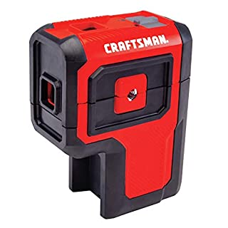 CRAFTSMAN Laser Level Tool, Red, 3 Spot (CMHT77632) (B07KKB4M9D) | Amazon price tracker / tracking, Amazon price history charts, Amazon price watches, Amazon price drop alerts