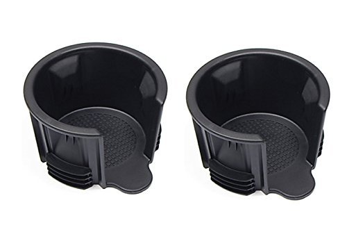 LAND ROVER RANGE ROVER / RANGE ROVER SPORT / LR3 / LR4 CUP HOLDER INSERT SET OF 2 PARTS# LR021330