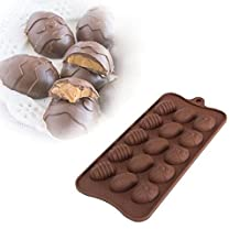 Bazaar Easter Egg Silicone Chocolate Mold Cake Cookie Ice Baking Mould