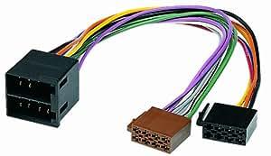 Phonocar 4/625 - Cable para radio de coche (norma ISO), multicolor