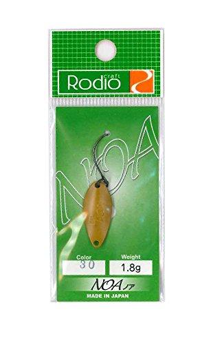 Rodiocraft(ロデオクラフト) NOA(ノア) 1.8g #30 和カラシ(マット)の商品画像