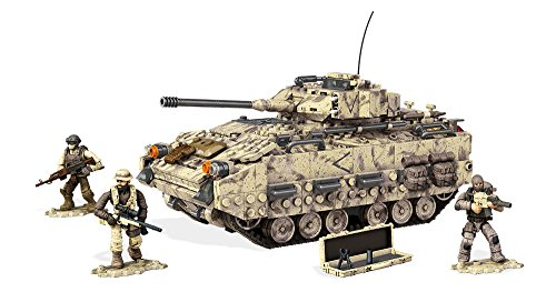 Mega Bloks Call Of Duty Desert Tank Collector Construction Set