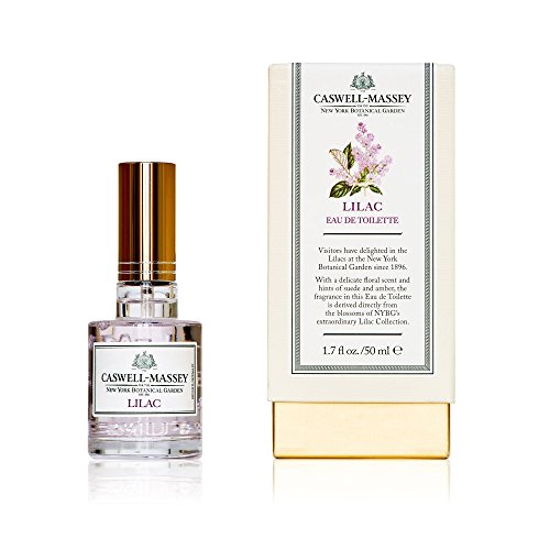 (Caswell-Massey New York Botanical Garden Lilac Eau De Toilette Perfume Spray – Floral Fragrance for Women, Made in USA – 1.7)