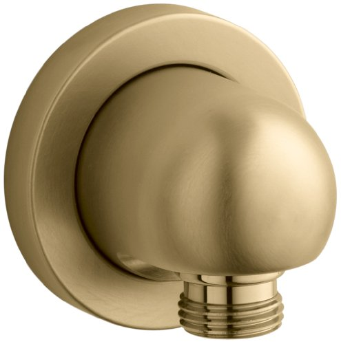 Kohler K-976-BGD Stillness Wall-Mount Supply Elbow, Vibrant Moderne Brushed Gold by Kohler
