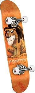 POSITIV The Breeze Lion Complete Skateboard (Orange) from FBAPowerSetup