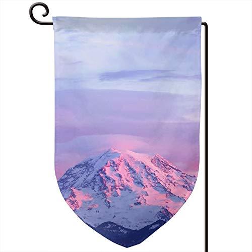 (Seattle Mt. Rainier National Park Weatherproof Polyester Garden Flag 12