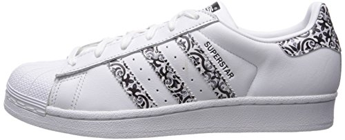Adidas Blanc W Femme Sneakers Superstar noir Basses rSqra