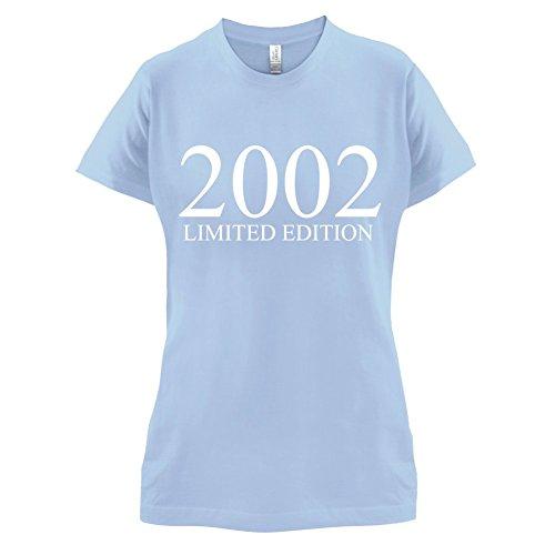 2002 Limierte Auflage / Limited Edition - 15. Geburtstag - Damen T-Shirt - Himmelblau - M