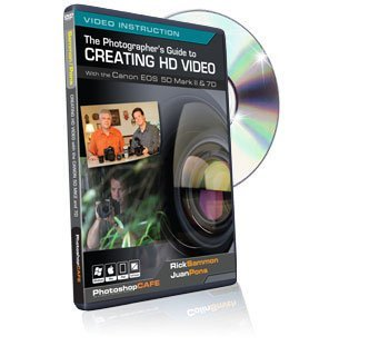 Using DSLR Digital Camera in Creating HD Video with the Canon 5D Mark II & 7D tutorial DVD - Great training video for Digital videographers and photographers
