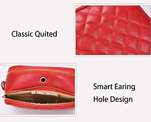 Women Small Designer for Black Quilted Crossbody Bag CLassic Crossbody Quilted Bags Bag WSqXIS