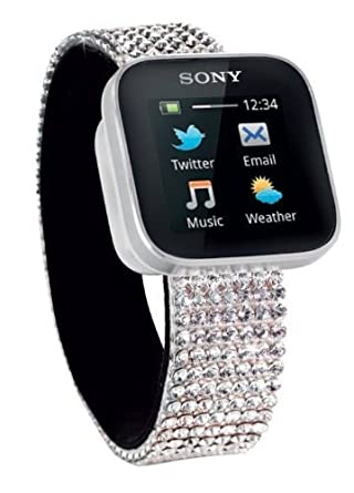 Amazon.com: Sony mn2 Bluetooth Smart Watch elementos de ...