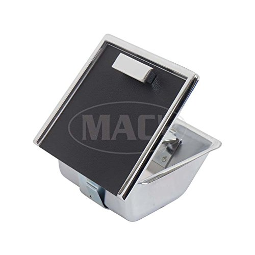 8572 Ford Mustang Console Ash Tray - Includes Lid - Camera Case Textured Finish (1965 Mustang Console)