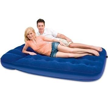 LANGRIA Luftbett mit Pumpe Gästebett Bett Matratze Luftmatratze selbstaufblasend