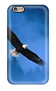 5875868K27256623 Iphone 6 Flight Of Freedom Bald Eagle Tpu Silicone Gel Case Cover. Fits Iphone 6