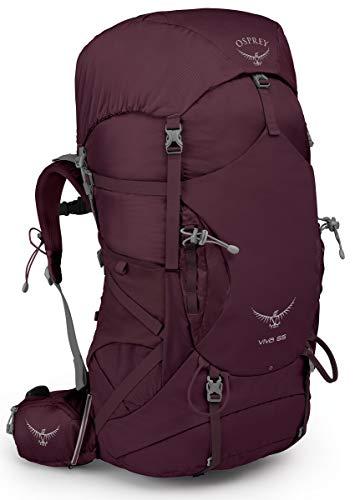 Osprey Packs Viva 65 Women's Backpacking Pack, Titan Red, One Size ()