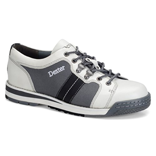 Dexter Mens SST Tank White/Grey/Black Bowling Shoes- Right Hand (11 M US, White/Grey/Black) by Dexter