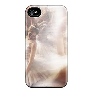 Cynthaskey Iphone 4/4s Well-designed Hard Case Cover Dragonfly Dance Protector