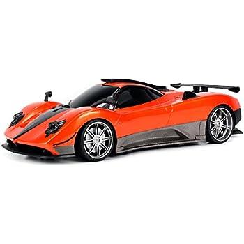 Amazon.com: WFC Pagani Zonda R Remote Control RC Car 1:16 Scale Size ...
