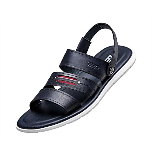 ZRO Men's Fashion Summer Casual Beach Sandals Flexible BLUE US 8
