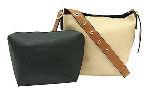 b25749b3e54 Pepgirls Women s Sling Bag and Pouch (Brown