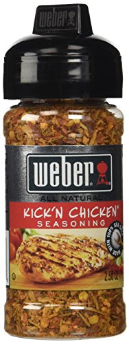 - WEBER Grilling Seasoning KICK'N CHICKEN 2.5 oz