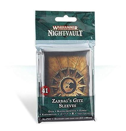 Warhammer Underworlds: Zarbags Gitz Sleeves