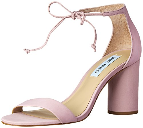 Steve Madden Womens Shays Dress Sandal Pink Nubuck