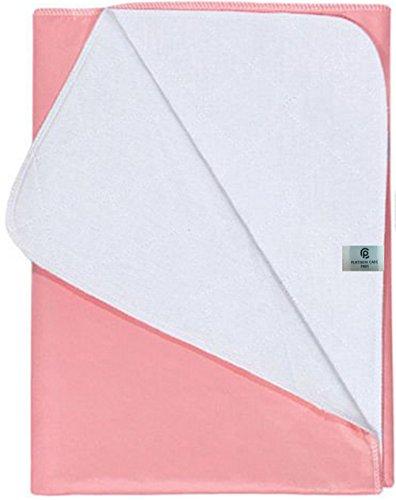 Platinum Care Pads Washable Reusable Bed Pads - Pink, Medium (Size 23x35) 4 (Adult Chuck)