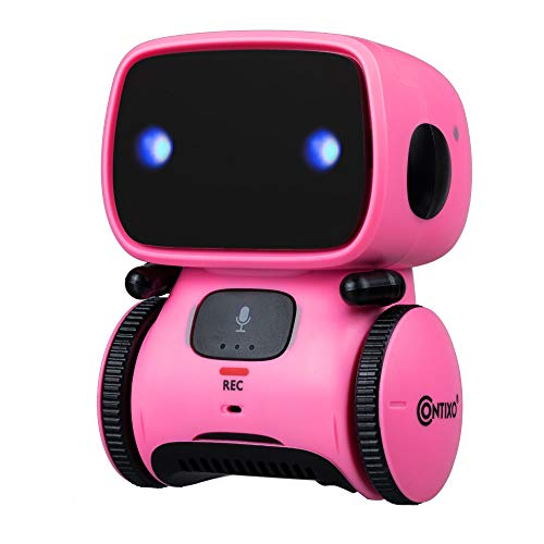 Contixo Robot Toy for Boys & Girls Fun Interactive Dancing Singing & More