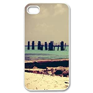 Beach Retro Ppopularography For Apple Iphone 5C Case Cover Cheap Cute, For Apple Iphone 5C Case Cover s for Teen Girls Cute Cute for Girls with White