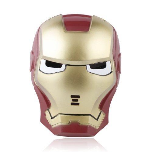 Iron Man Light Up Mask (Iron Man LED Light Up Mask, Hot Halloween Cosplay)