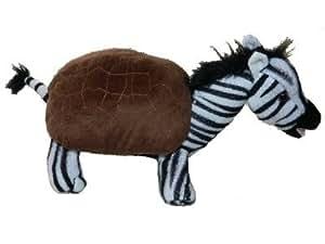 """12"""" Plush Zurtle - Zebra + Turtle"""