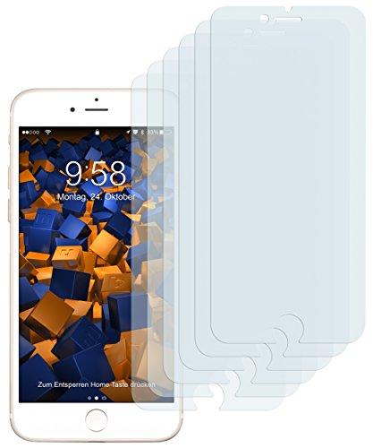 6 x mumbi Schutzfolie für iPhone 7 Folie Displayschutzfolie