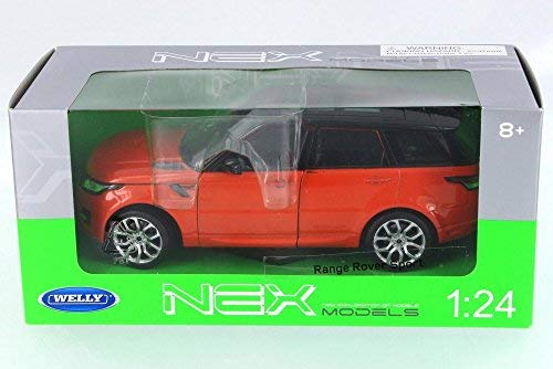 Welly 2015 Land Rover Range Rover Sport, Orange 24059W-OR - 1/24 Scale Diecast Model Toy Car (Model Range Rover)