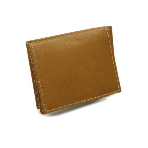 piel-leather-deluxe-bi-fold-money-clip-saddle-one-size