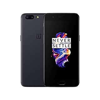 OnePlus 5 A5000 - Gray - 6GB RAM + 64 GB - 5.5 inch - International Version - No Warranty (Gray)