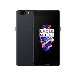 OnePlus 5 A5000 – Gray – 6GB RAM + 64 GB – 5.5 inch – International Version – No Warranty (Gray)