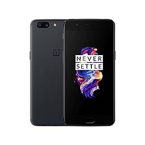 "OnePlus 5 A5000 64GB Slate Grey, 5.5"", 6GB RAM, Dual Sim, GSM Unlocked International Model, No Warranty"