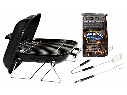 Akerue Industries 14in. Tabletop Charcoal Grill With Charcoa