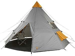 Grand Canyon Tepee - Tienda familiar de acampada y senderismo, color gris
