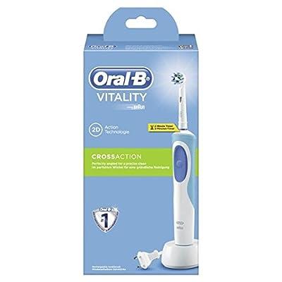 Comparer ORAL B VITALITY PRECISION CLEAN D12513 BLEU